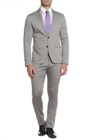 Костюм: пиджак, брюки CNC Costume National C'N'C. Цвет: серый