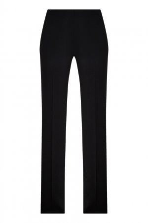 Шерстяные брюки со стрелками Chapurin. Цвет: черный