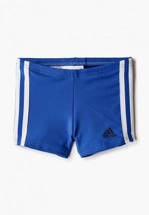 Плавки adidas FIT BX 3S Y. Цвет: синий