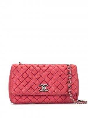 Сумка New Bubble с клапаном Chanel Pre-Owned. Цвет: розовый