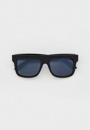 Очки солнцезащитные Eyelevel Toni. Цвет: черный