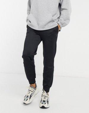 Черные спортивные штаны с логотипом Iconic MCS-Черный Puma