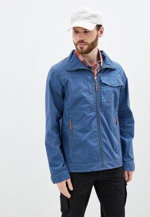 Куртка Outventure. Цвет: голубой