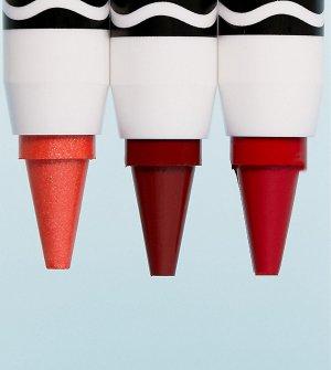 Три косметических карандаша Crayola