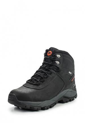 Ботинки трекинговые Merrell VEGO MID LTHR WTPF. Цвет: черный