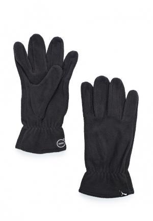 Перчатки PUMA fleece gloves. Цвет: серый