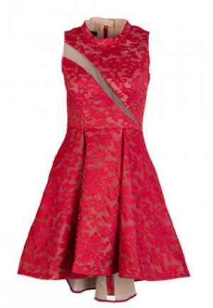 Платье FOREVER UNIQUE. Цвет: красный