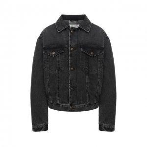 Джинсовая куртка Maison Margiela. Цвет: серый