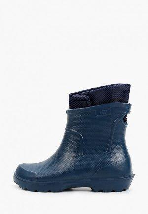 Резиновые сапоги Evart. Цвет: синий