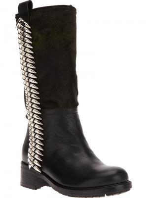 Ботинки Gianmarco Lorenzi Collector. Цвет: зелёный
