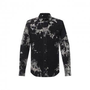 Джинсовая рубашка Dolce & Gabbana. Цвет: чёрный