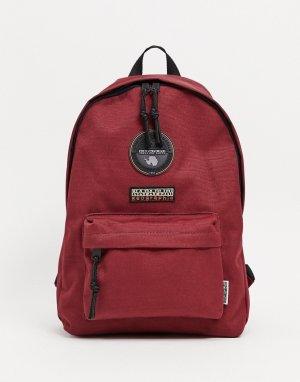 Бордовый миниатюрный рюкзак Voyage 2-Красный Napapijri