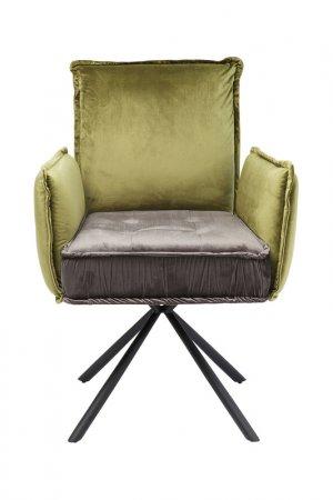 Кресло Chelsea Kare. Цвет: золотой, серый