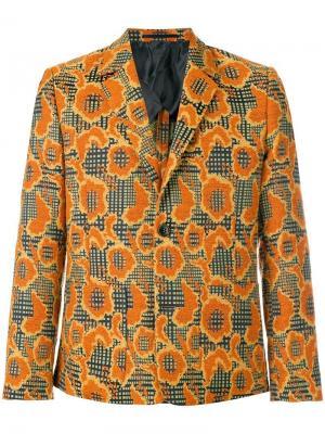 Пиджак 4Ever Henrik Vibskov. Цвет: жёлтый и оранжевый