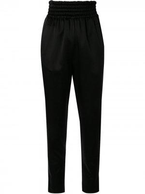 Спортивные брюки с завышенной талией Giambattista Valli. Цвет: черный