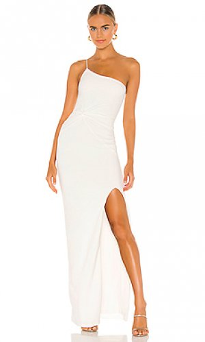 Вечернее платье lust one Nookie. Цвет: белый