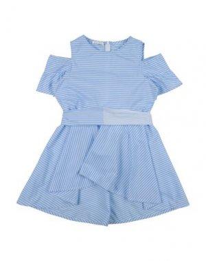 Платье ELSY. Цвет: небесно-голубой