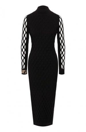 Платье Fendi. Цвет: черный