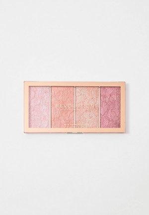 Румяна Revolution Vintage Lace Blush Palette, 20г.. Цвет: разноцветный