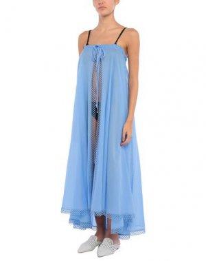 Пляжное платье CHARO RUIZ IBIZA. Цвет: лазурный