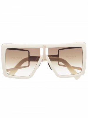 Солнцезащитные очки Wonder Boy II Balmain Eyewear. Цвет: нейтральные цвета