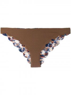 Плавки бикини Santa Clara Marysia. Цвет: коричневый