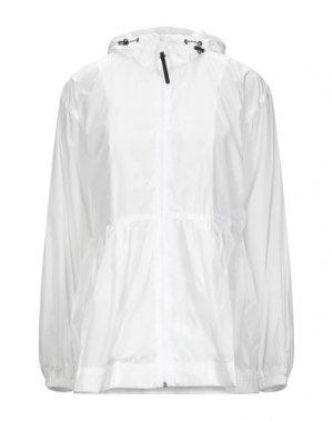 Легкое пальто DUVETICA. Цвет: белый