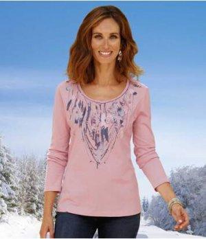 Блуза из Хлопка Atlas For Men. Цвет: розовый