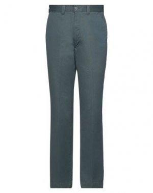 Повседневные брюки DOCKERS. Цвет: серый