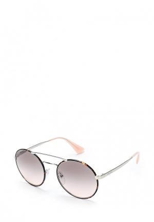Очки солнцезащитные Prada PR 51SS 2AU4K0. Цвет: серый