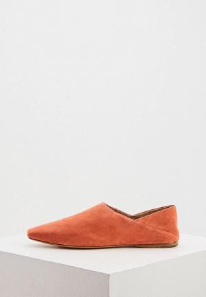 Туфли Max&Co. Цвет: коралловый
