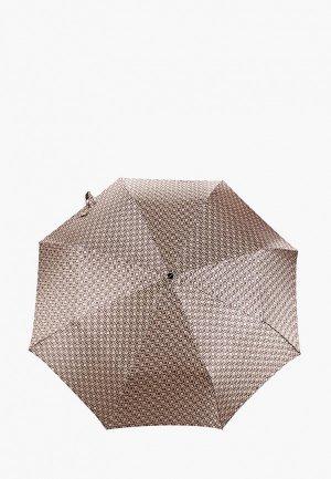 Зонт складной Doppler. Цвет: коричневый