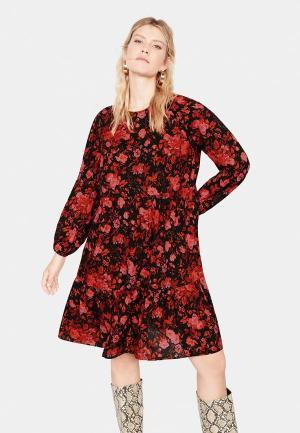 Платье Violeta by Mango - RED. Цвет: красный