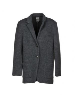 Пальто IRIE WASH. Цвет: свинцово-серый