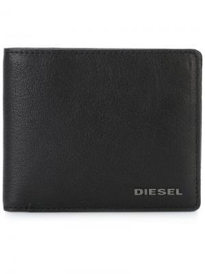 Маленький бумажник Diesel. Цвет: черный