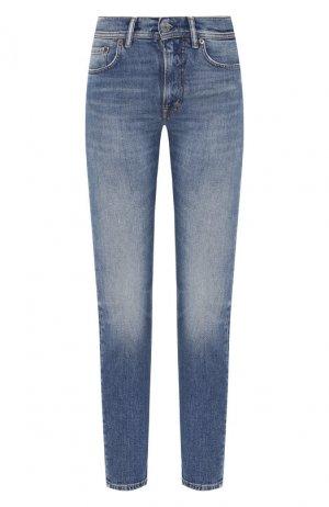 Укороченные джинсы Acne Studios. Цвет: голубой