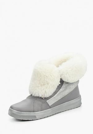 Ботинки Bartek BA005AGOEF29. Цвет: серебряный, серый