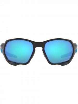 Солнцезащитные очки Plazma Oakley. Цвет: синий