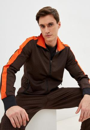 Олимпийка Michael Kors. Цвет: коричневый