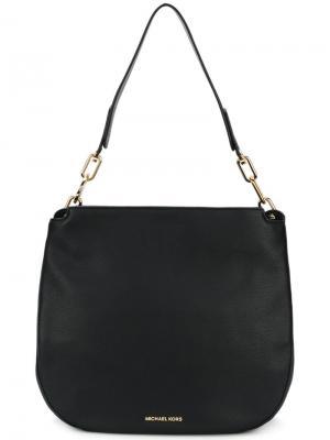Большая сумка на плечо Fulton Michael Kors. Цвет: черный