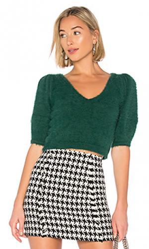 Пуловер kimya LAcademie L'Academie. Цвет: зеленый