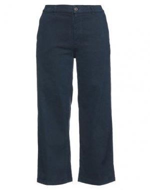 Повседневные брюки EUROPEAN CULTURE. Цвет: грифельно-синий