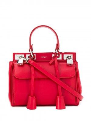 Большая сумка-тоут Flore Giambattista Valli. Цвет: красный