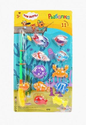 Набор игровой Играем Вместе «Три кота. Рыбалка», 11  предметов. Цвет: разноцветный