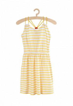 Платье 5.10.15. Цвет: желтый
