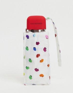 Зонт с принтом конфетти -Многоцветный Lulu Guinness