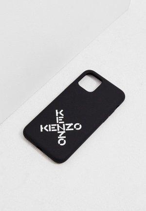Чехол для iPhone Kenzo 11 PRO. Цвет: черный