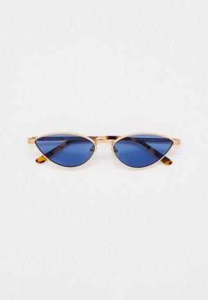 Очки солнцезащитные Karl Lagerfeld KL 312S 717. Цвет: золотой