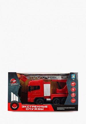 Игрушка радиоуправляемая 1Toy Пожарная машина. Цвет: красный