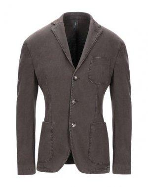 Пиджак BRANDO. Цвет: темно-коричневый